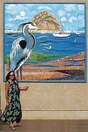 Link to larger version  81k of Blue Heron mini mural